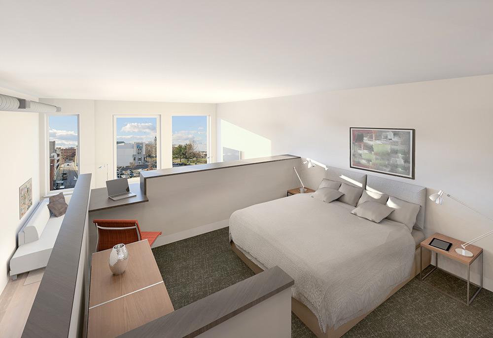 Interior renderings luminato luminato for Raised bedroom ceiling