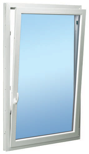 With The Handle At 90 Degrees Window Angles Inwards Tilts Top Turned 180 Opens In Like A Door